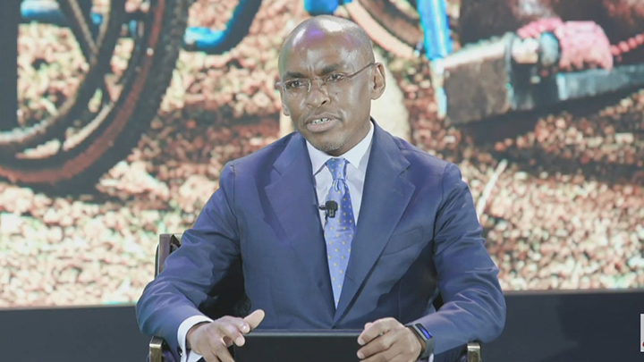 Safaricom CEO Peter Ndegwa.