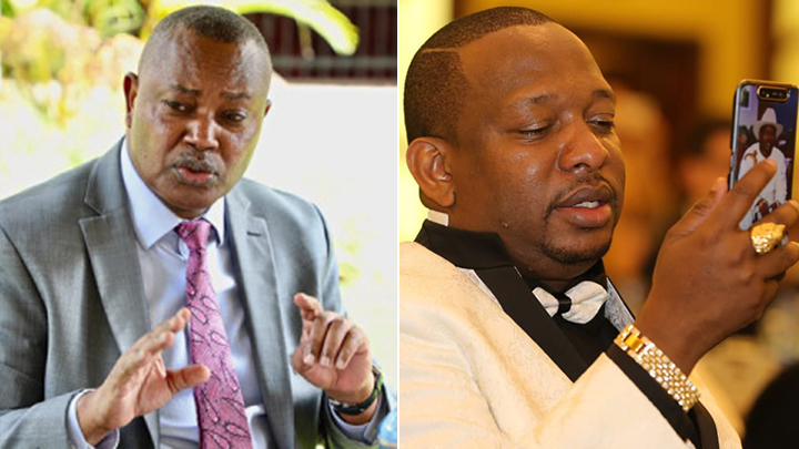 George Kinoti and Mike Sonko.