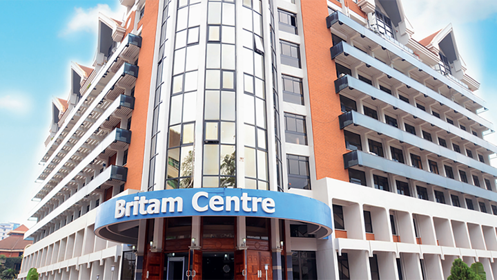 Britam offices. PHOTO/COURTESY