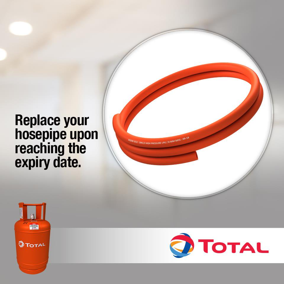 A Total hosepipe safety campaign PHOTO/COURTESY.