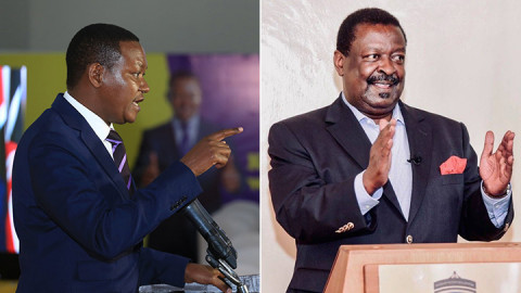 Alfred Mutua and Musalia Mudavadi.