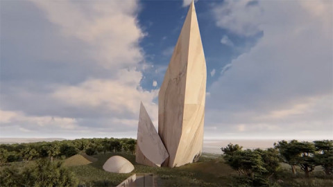 An artistic impression of Ngaren Museum commissioned by parleoanthropologist Dr Richard Leaky. PHOTO/SCREENSHOT