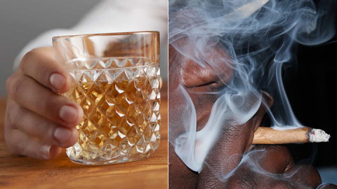 Alcohol and bhang. PHOTOS/COURTESY