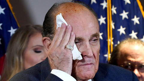 Rudy Giuliani. PHOTO/COURTESY