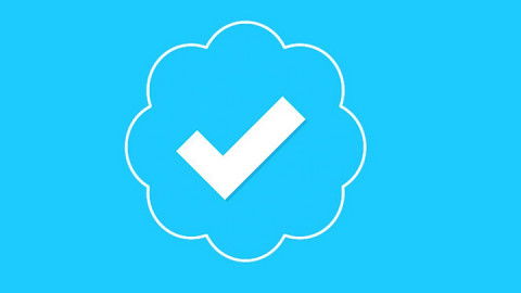 Twitter verification badge. PHOTO/FILE