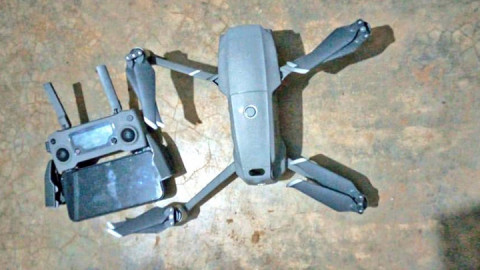 Drone impounded in Lamu. PHOTO/DCI