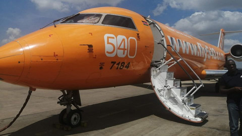 Fly540 airline. PHOTO/COURTESY