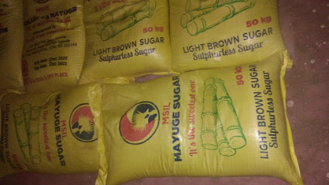 The smuggled sugar. PHOTO/COURTESY