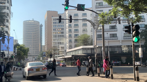 Nairobi CBD. PHOTO/FILE