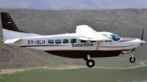 Safarilink plane. PHOTO/COURTESY