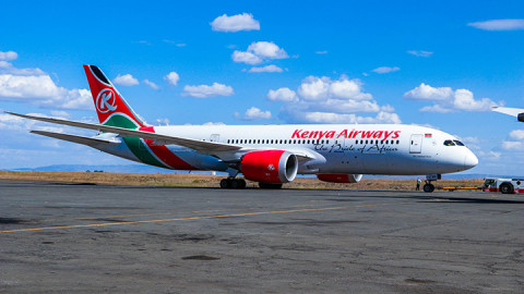 KQ plane. PHOTO/COURTESY