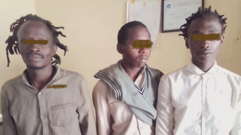 The three bhang suspects.