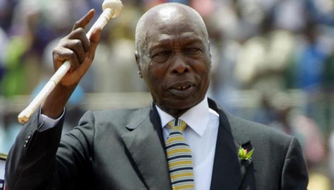 Former president Daniel Toroitich arap Moi PHOTO/COURTESY